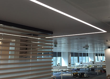 GDF Suez, Canary Wharf, London. Consultant: CCE Projects Ltd